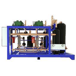 Промышленная холодильная централь OMEX на базе винтовых компрессоров