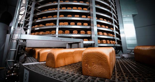 Конвейер хлебзавода