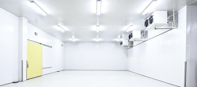 Оснащение холодильного склада